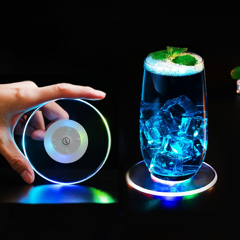 Acrylic Led Base Lamp Coasters